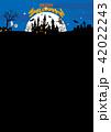 ハロウィン背景素材 42022243
