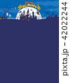 ハロウィン背景素材 42022244