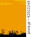 ハロウィン背景素材 42022248