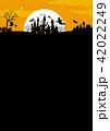 ハロウィン背景素材 42022249