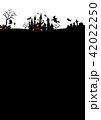 ハロウィン背景素材 42022250