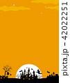 ハロウィン背景素材 42022251