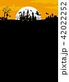 ハロウィン背景素材 42022252