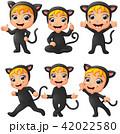 ねこ ネコ 猫のイラスト 42022580