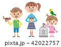 子供 ペット イラスト 42022757