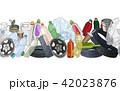 ゴミ くず ごみのイラスト 42023876