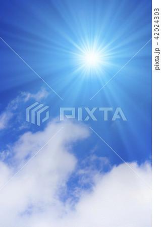 青空と太陽 42024303