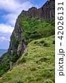 城山日出峰 済州島 世界遺産の写真 42026131
