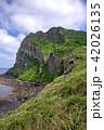 城山日出峰 世界遺産 風景の写真 42026135