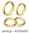 指輪 金 黄金のイラスト 42026267
