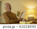 男性 シニア 手紙の写真 42028090