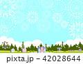 花火 森の遊園地 イラスト 42028644