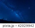天の川がはっきり見える八重山の星空 42029942