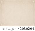 背景-紙-古紙-フレーム 42030294