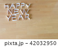 紙で作った HAPPY NEW YEAR 42032950
