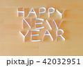 紙で作った HAPPY NEW YEAR 42032951