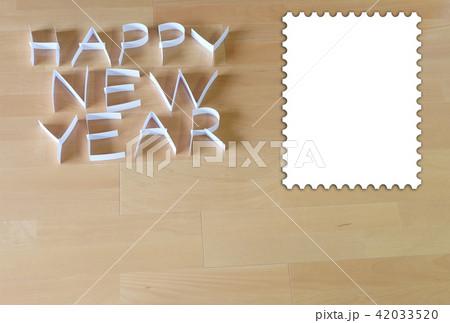 紙で作った HAPPY NEW YEAR 42033520