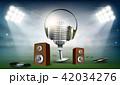 音声 ベクトル マイクロフォンのイラスト 42034276