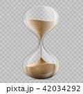 すなどけい 砂時計 砂のイラスト 42034292