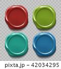 シール ワックス 赤色のイラスト 42034295