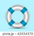 Life buoy vector illustration 42034370