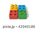 おもちゃのブロック 42040186