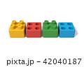 おもちゃのブロック 42040187