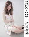 ヘアスタイル 女性 巻き髪の写真 42040711
