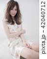 ヘアスタイル 女性 巻き髪の写真 42040712