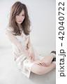 ヘアスタイル 女性 巻き髪の写真 42040722
