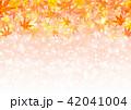 背景 紅葉 輝きのイラスト 42041004