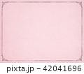 背景-紙-古紙-フレーム-ピンク 42041696