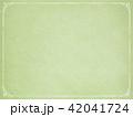 背景-紙-古紙-フレーム-グリーン 42041724