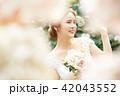 女性 ブライダル 花嫁の写真 42043552