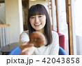 女性 カフェ ランチの写真 42043858