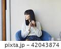 人物 ポートレート 女性の写真 42043874