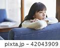 人物 女性 カフェの写真 42043909