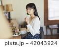 女性 カフェ ランチの写真 42043924