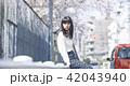 女性 春 散歩の写真 42043940