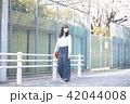 女性 春 散歩の写真 42044008