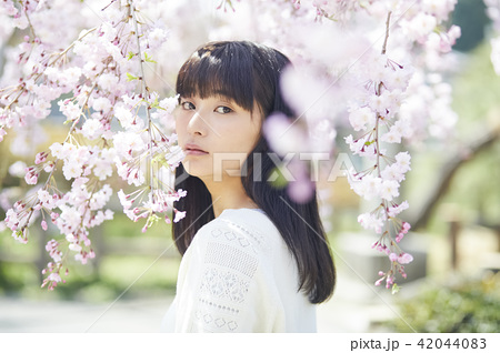 桜 ポートレート 42044083
