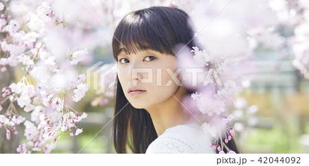 桜 ポートレート 42044092