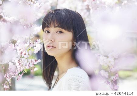 桜 ポートレート 42044114