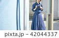 女性 旅行 一人旅の写真 42044337