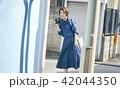 女性 旅行 一人旅の写真 42044350