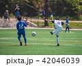 少年サッカー試合風景 42046039