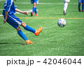 少年サッカー試合風景 42046044