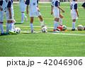 少年サッカー練習風景 42046906