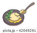 アイスクリーム アイス お菓子のイラスト 42049291