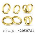 指輪 金 黄金のイラスト 42050781